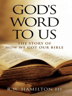 God's Word to Us