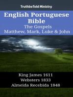 English Portuguese Bible - The Gospels - Matthew, Mark, Luke & John