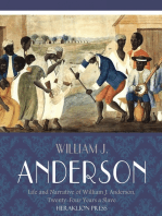 Life and Narrative of William J. Anderson, Twenty-Four Years a Slave