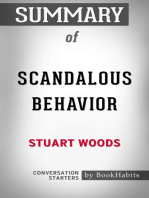 Summary of Scandalous Behavior (A Stone Barrington Novel) by Stuart Woods | Conversation Starters