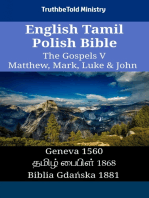 English Tamil Polish Bible - The Gospels V - Matthew, Mark, Luke & John