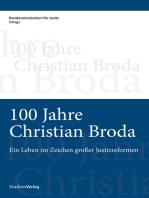 100 Jahre Christian Broda