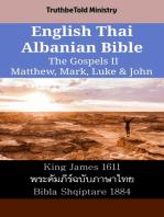 English Thai Albanian Bible - The Gospels II - Matthew, Mark, Luke & John