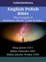 English Polish Bible - The Gospels X - Matthew, Mark, Luke & John