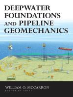 Deepwater Foundations and Pipeline Geomechanics