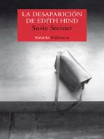 La desaparición de Edith Hind