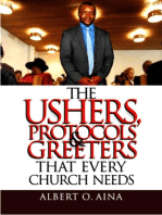 The Ushers, Protocols And Greeters That Every Church Needs