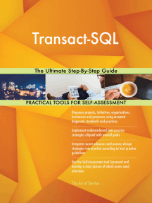 Transact-SQL The Ultimate Step-By-Step Guide