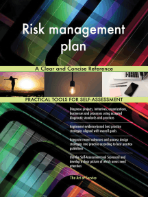 Risk management plan A Clear and Concise Reference