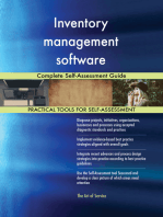Inventory management software Complete Self-Assessment Guide