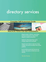 directory services Complete Self-Assessment Guide