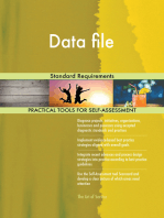 Data file Standard Requirements