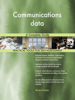 Communications data A Complete Guide