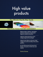 High value products The Ultimate Step-By-Step Guide