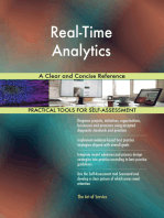 Real-Time Analytics A Clear and Concise Reference