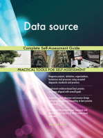 Data source Complete Self-Assessment Guide