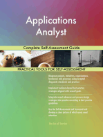 Applications Analyst Complete Self-Assessment Guide