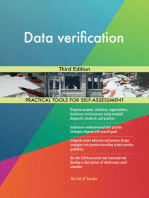 Data verification Third Edition