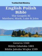 English Polish Bible - The Gospels XI - Matthew, Mark, Luke & John