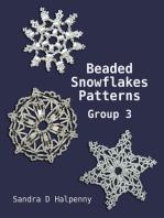 Beaded Snowflake Patterns - Group 3