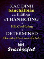 Xác định về Bản chất Bí ẩn của Thất bại và Thành công
