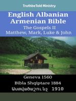 English Albanian Armenian Bible - The Gospels II - Matthew, Mark, Luke & John