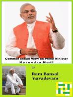 Common Indian View on Prime Minister Narendra Modi