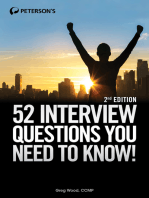 52 Job Interview Questions You Need to Know!