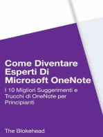 Come diventare esperti di Microsoft OneNote 2013