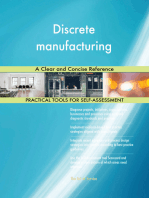Discrete manufacturing A Clear and Concise Reference