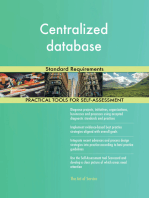 Centralized database Standard Requirements