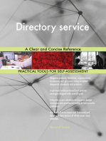 Directory service A Clear and Concise Reference