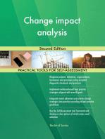 Change impact analysis Second Edition