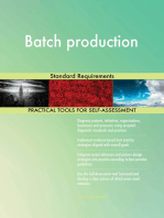 Batch production Standard Requirements