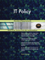 IT Policy Standard Requirements