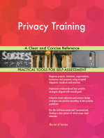 Privacy Training A Clear and Concise Reference