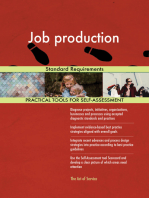 Job production Standard Requirements