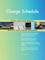 Change Schedule A Clear and Concise Reference