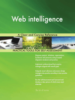 Web intelligence A Clear and Concise Reference