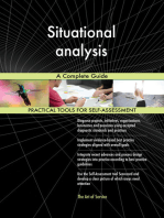 Situational analysis A Complete Guide
