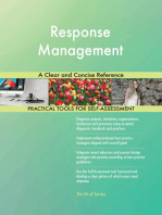 Response Management A Clear and Concise Reference