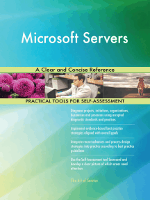 Microsoft Servers A Clear and Concise Reference