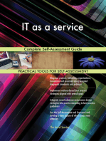 IT as a service Complete Self-Assessment Guide