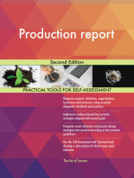 Production report Second Edition