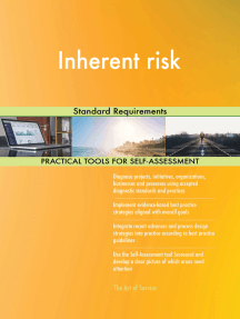 Inherent risk Standard Requirements