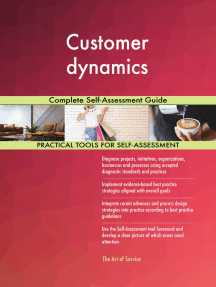 Customer dynamics Complete Self-Assessment Guide