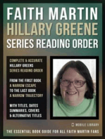 Faith Martin Hillary Greene Series Reading Order