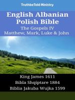 English Albanian Polish Bible - The Gospels IV - Matthew, Mark, Luke & John