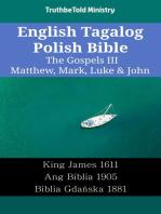 English Tagalog Polish Bible - The Gospels III - Matthew, Mark, Luke & John