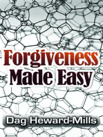 Forgiveness Made Easy